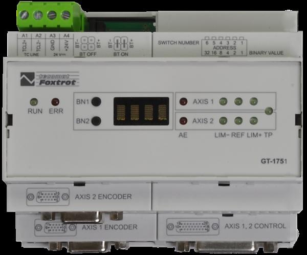 Модуль позиционирования и управления станками GT-1751 на одну ось