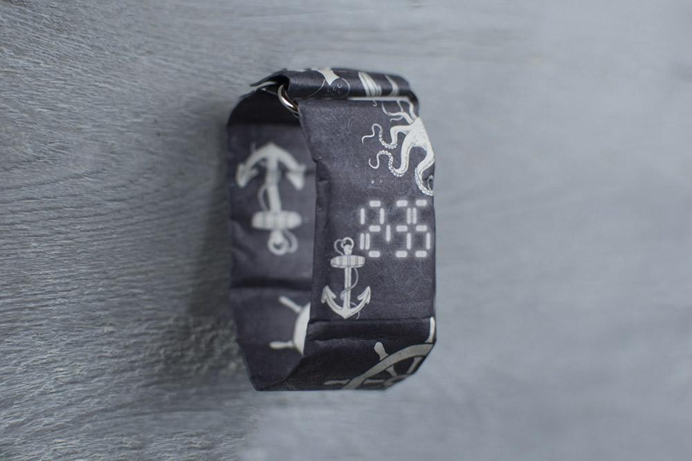 Бумажные часы Paper Watch Водонепроницаемые Anchor