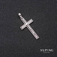 Кулон Xuping Крест 35х2916мм родий