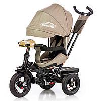 Детский трёхколёсный велосипед Cayman, «Tilly» (T-381/2), цвет Beige (бежевый)