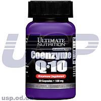 Ultimate Nutrition Coenzyme Q-10 100 mg коэнзим ку 10 для сердца кардиопротектор спортивное питание