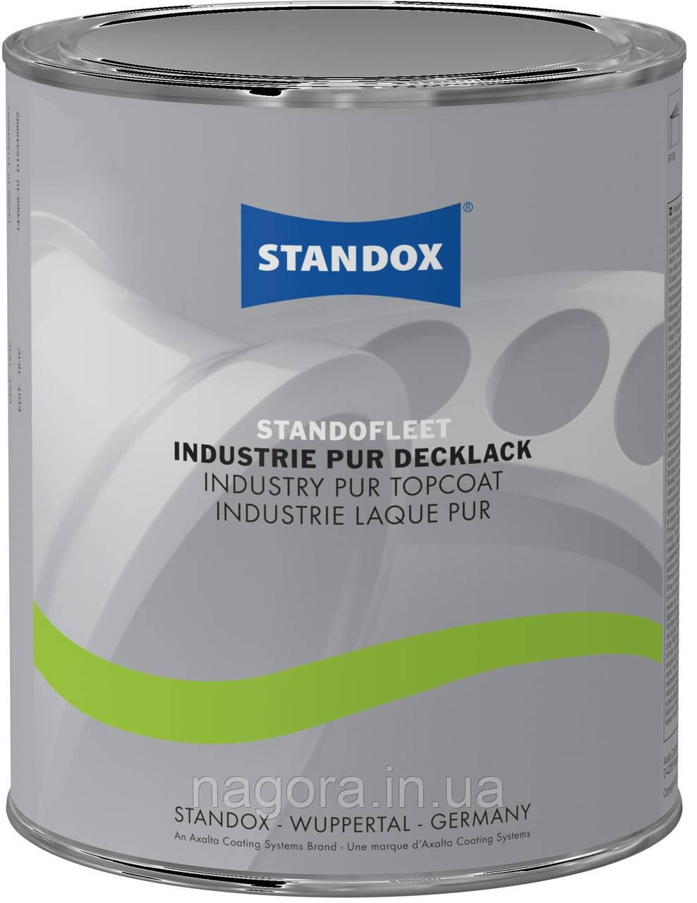 Полиуретановая эмаль, серая (RAL7016) Standofleet Industry PUR Topcoat