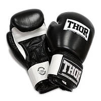 THOR SPARRING(Leather)BLK/WH , фото 1