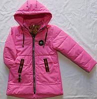 Детская демисезонная  куртка оптом на 1-5 лет малина