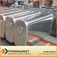Бак гидравлический (гидробак) закабинный 150 л алюминиевый (50х31х100)