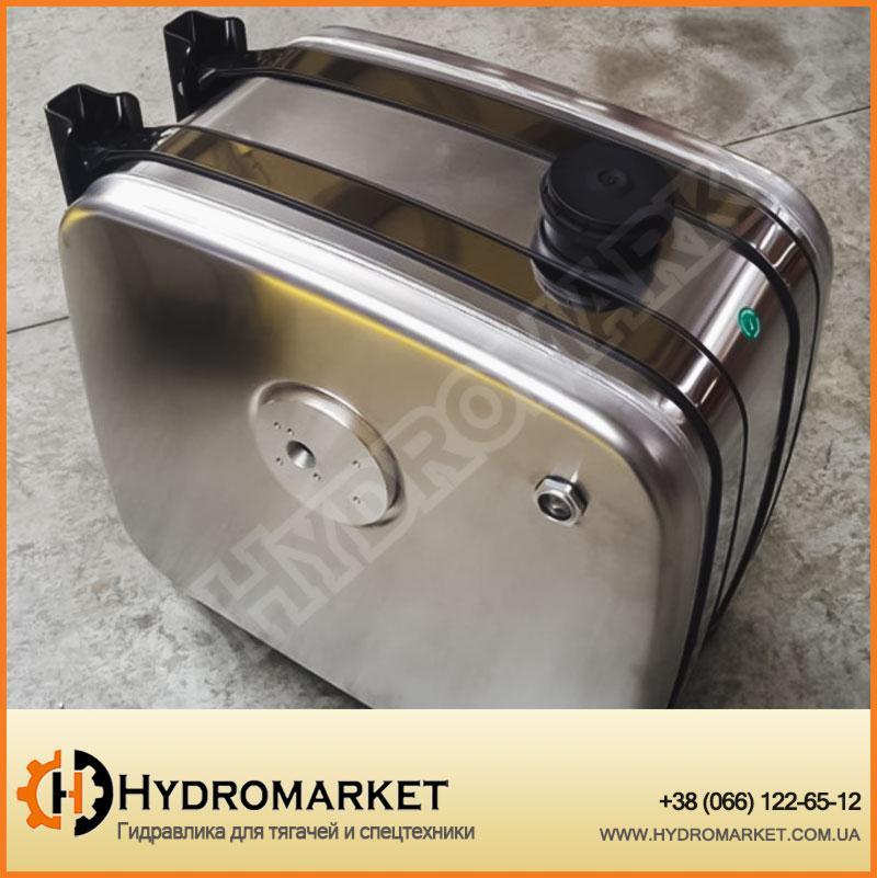 Бак гидравлічний (гидробак) бокового крепления 80 л алюминиевый (30х64х56)