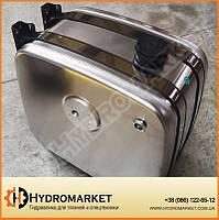 Бак гидравлічний (гидробак) бокового крепления 80 л алюминиевый (30х64х56), фото 1