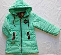 Детская демисезонная  куртка оптом на 1-5 лет мята