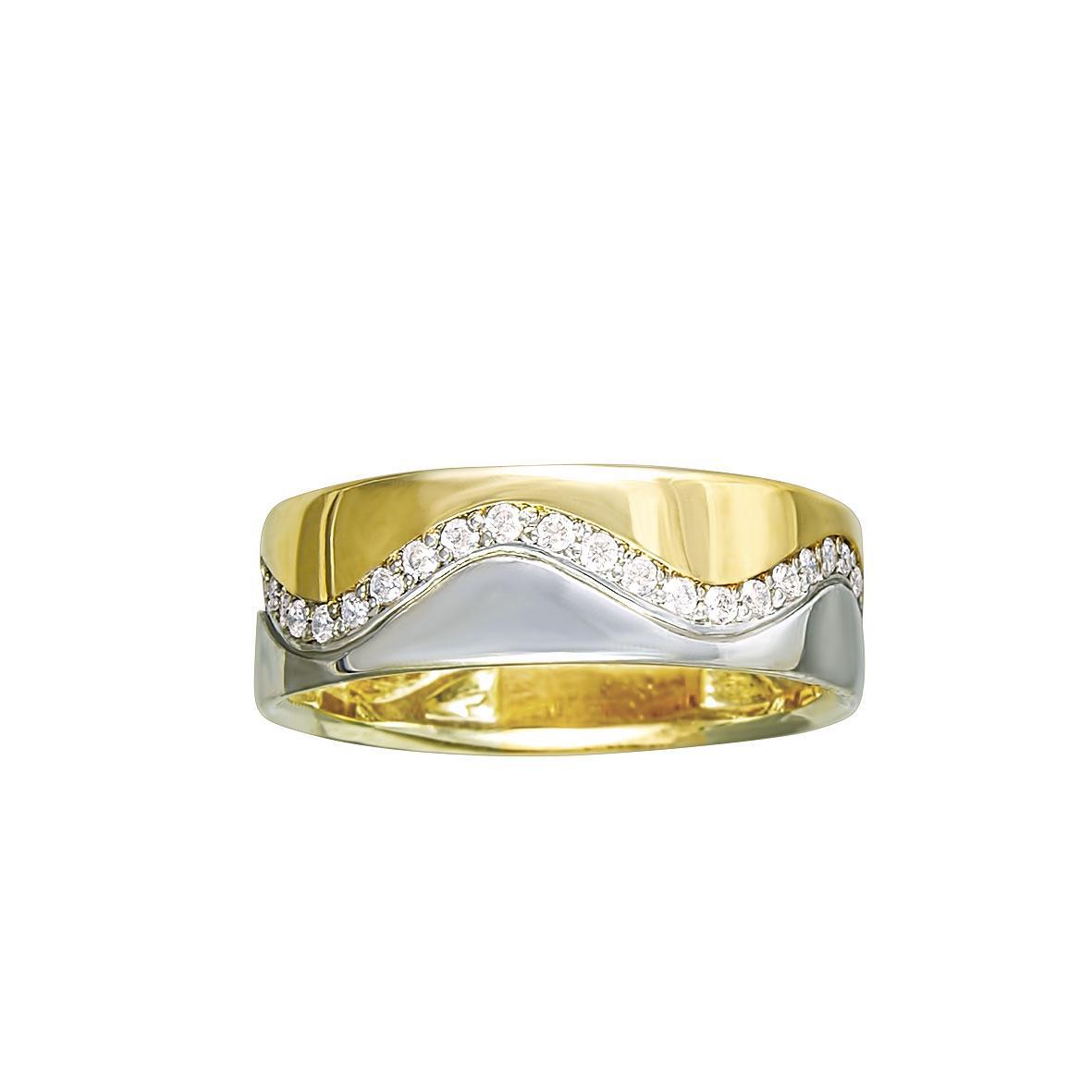 Обручальное литое кольцо 585