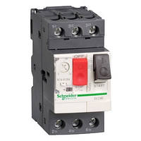Автоматичний вимикач 1 - 1.6A захисту двигуна GV2ME06