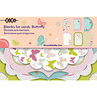 Заготовка для открыток Butterfly Zibi ZB.18205-AF