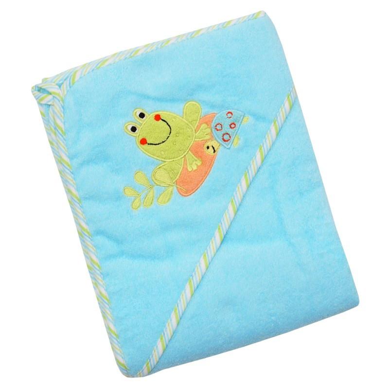 Полотенце махра Baby Mix CY-33 Frog 100*100 см