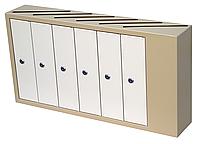 Ящик почтовый многосекционный ЯП-06А
