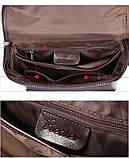 Жіночий шкіряний рюкзак міський. Модний маленький рюкзак жіночий сумка рюкзак трансформер (чорний), фото 10
