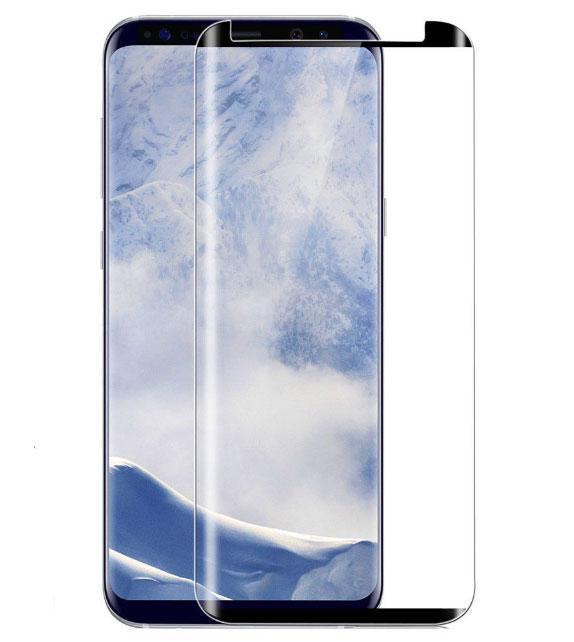 3D захисне скло для Samsung Galaxy S8 (SM-G950F) - New Design Black