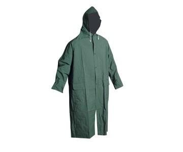 Плащ влагозащитный ПВХ, зеленый, фото 1