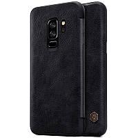 Кожаный чехол (книжка) Nillkin Qin Series для смартфона Samsung Galaxy S9+