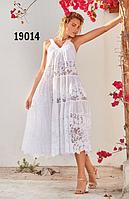 Туника пляжная Amarea 19014, хлопок
