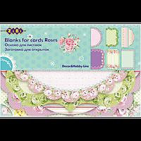 Заготовка для открыток Roses ZB.18202-AF