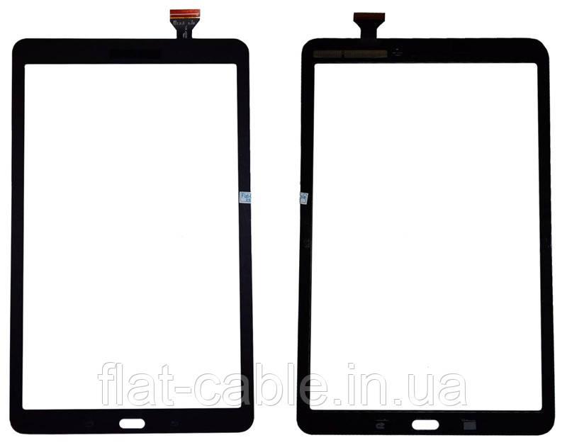 Тачскрин (сенсор) Samsung T560 T561 Galaxy Tab E 9.6 Темно серый