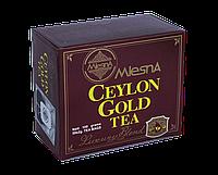 Черный чай Цейлон Голд, CEYLON GOLD, Млесна (Mlesna) 100г (50*2г), фото 1
