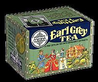 Черный чай Эрл Грей (бергамот), EARL GREY BLACK TEA, Млесна (Mlesna) 100г (50*2г)