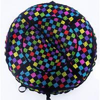 Тюб кольоровий Кубики, надувні санки, 100 см / Тюбинг цветной Кубики (надувные санки, ватрушки, тобоганы)