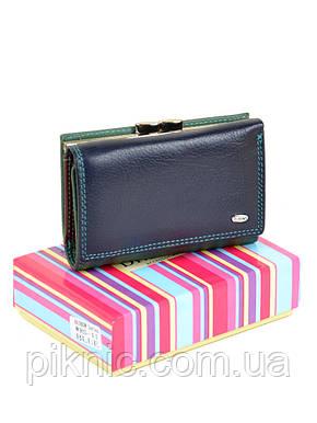 Компактный женский кожаный кошелек, портмоне Rainbow Dr Bond. Из натуральной кожи., фото 2