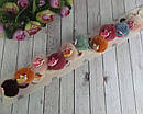 Резинки для волос Единороги с мехом 10 шт/уп, фото 4