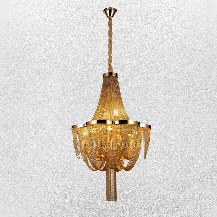 Люстра в стиле неоклассика  ( модель 908-D0094-8 S Gold )