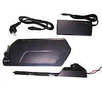 Аккумуляторная батарея 48В 12/15/17.5Aч USB (SAMSUNG) литиевая (корпус TigerShark) с зарядным, фото 1
