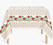 Льняная скатерть на стол  (1001/22)