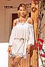 Туника пляжная Amarea 19110, хлопок с длинным рукавом