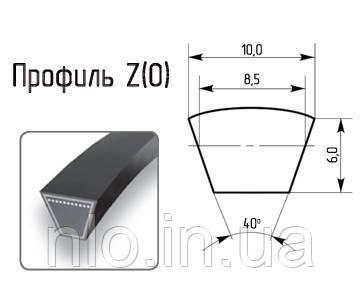 Ремінь профіль Z 850 (Корея) супер якість
