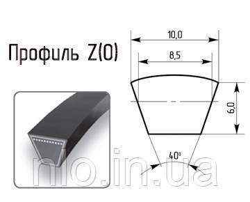 Ремень профиль Z 1120 (Корея) супер качество