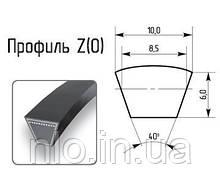 Ремінь профіль Z 1250 (Корея) супер якість