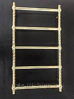 Золотий полотенцесушитель Ретро Куля Вінтаж 5 500*950 АЗОТЦМ, фото 1