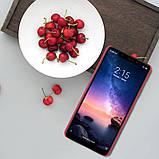 Nillkin Xiaomi Redmi Note 6 Pro Super Frosted Shield Red Чехол Накладка Бампер, фото 4