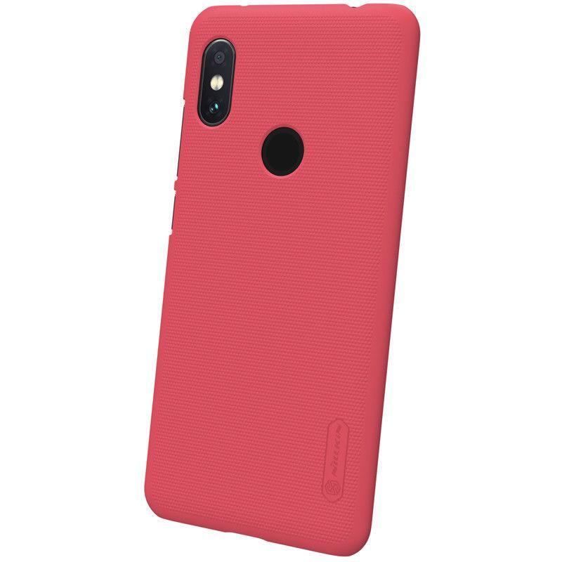 Nillkin Xiaomi Redmi Note 6 Pro Super Frosted Shield Red Чехол Накладка Бампер