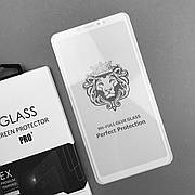 Защитное стекло 2.5D Premium Xiaomi Mi Max 3 White