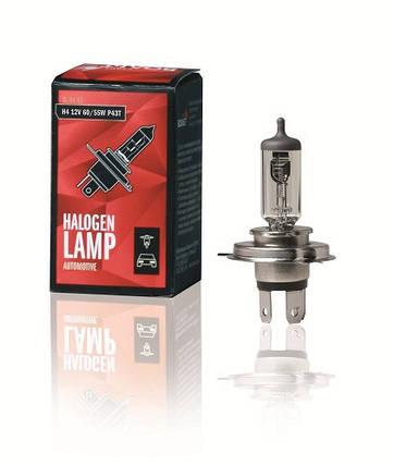 Лампа галоген 12V H4 60/55W P43T (VL-H4-01) СтартВольт, фото 2