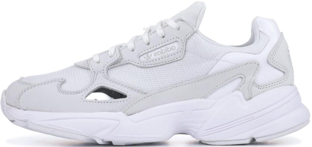 """Женские кроссовки Adidas Falcon """"White"""" (в стиле Адидас )"""