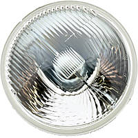 Фара левая= правая H4 (стекло+отражатель) с подсветкой, с экраном лампы ВАЗ 2101, 2102,-02,-21 (ОСВАР). ТН124