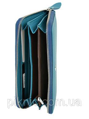 Женский кожаный кошелек на молнии Dr Bond. Из натуральной кожи. Черный, фото 2