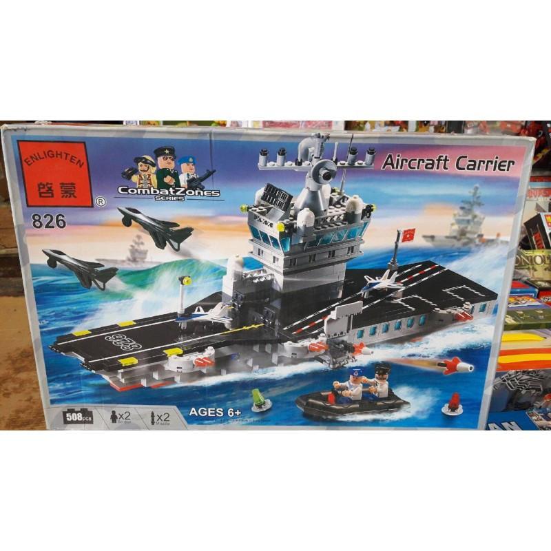 """Конструктор """"Авианосец"""" Brick 826 508 деталей"""