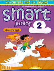 Smart Junior 2 Student's Book Ukrainian Edition + ABC book