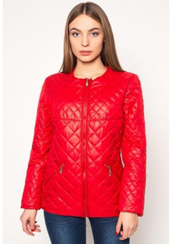 65c9b2b7d58 Купить Яркая стеганая женская куртка (красный) 8375 Украина