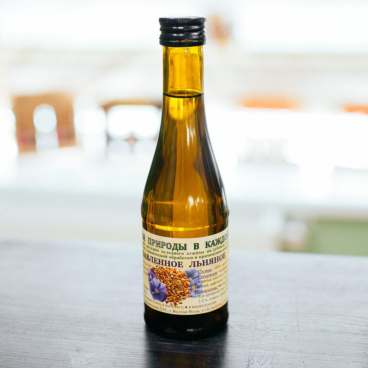 Льняное масло (200 мл)