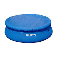 Тент BestWay 58032 для бассейна с верхним надувным кольцом диаметр 244см