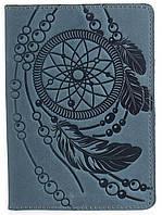 Обложка на паспорт SHVIGEL 13795 Голубая, Синий